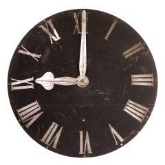 Large European Clock Face
