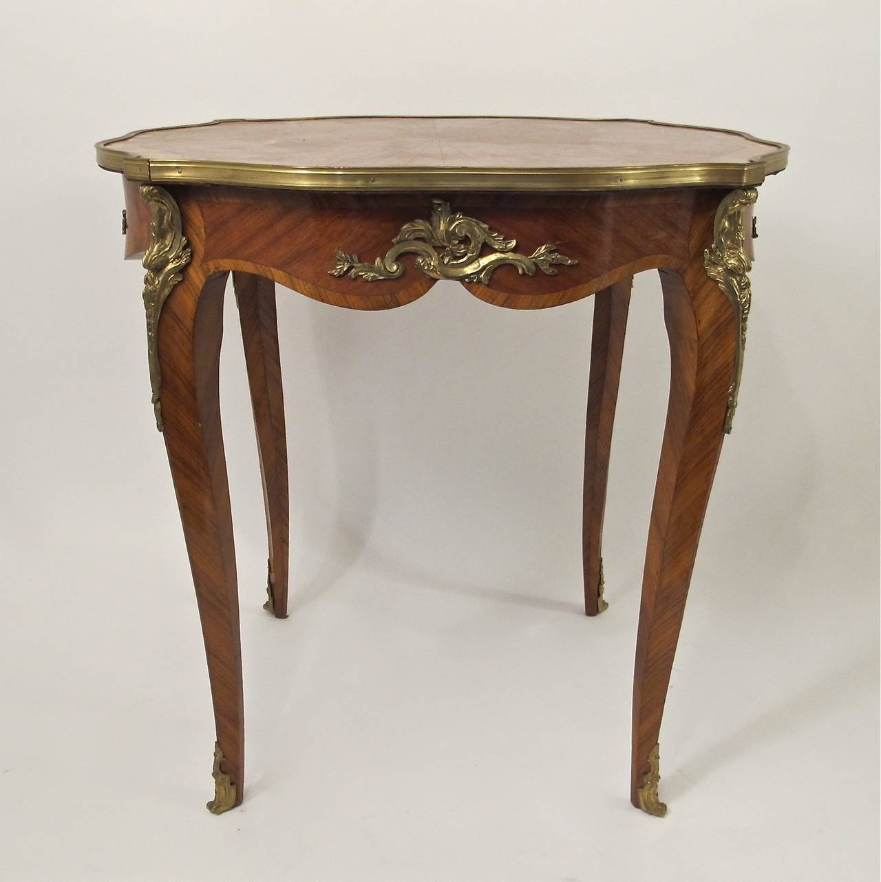 French Louis Xvi Style Side Table For 2