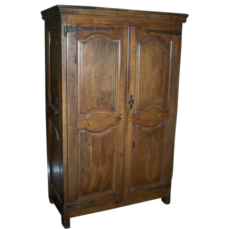 early 18thc french small scale armoire cabinet for sale at. Black Bedroom Furniture Sets. Home Design Ideas