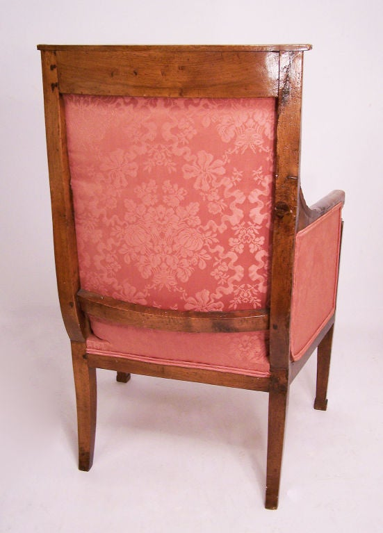 18th Century French Bergere Chair In Excellent Condition For Sale In San Francisco, CA