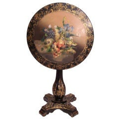 19th Century French Tilt Top Table