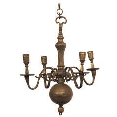 17th Century Dutch Candle Light Fixture
