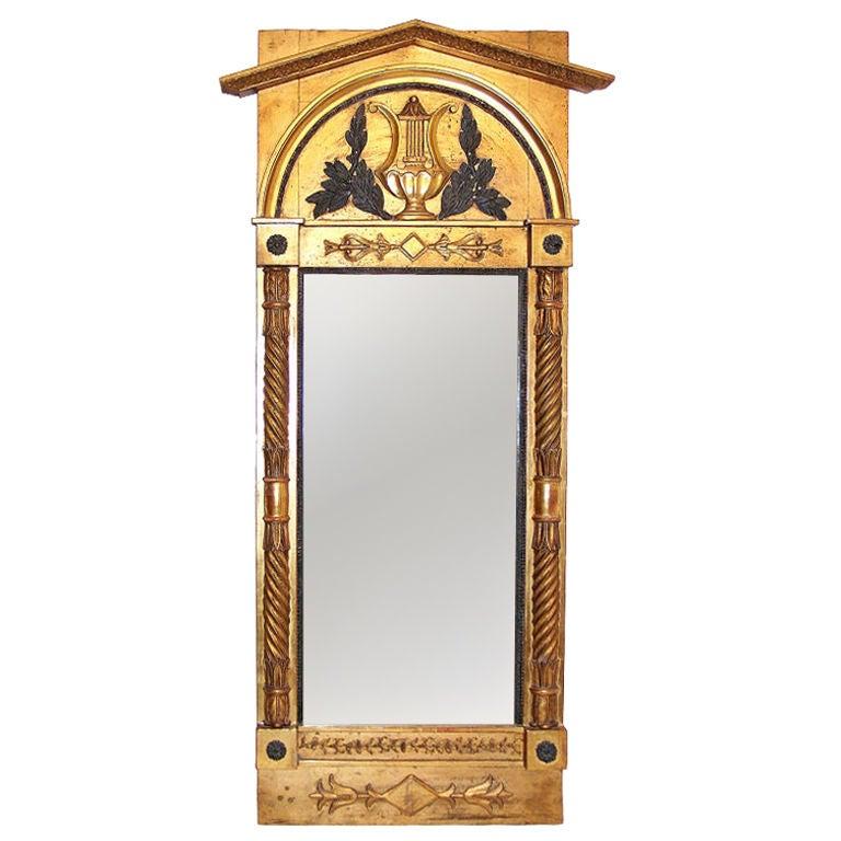 Italian Neoclassical Pier Mirror