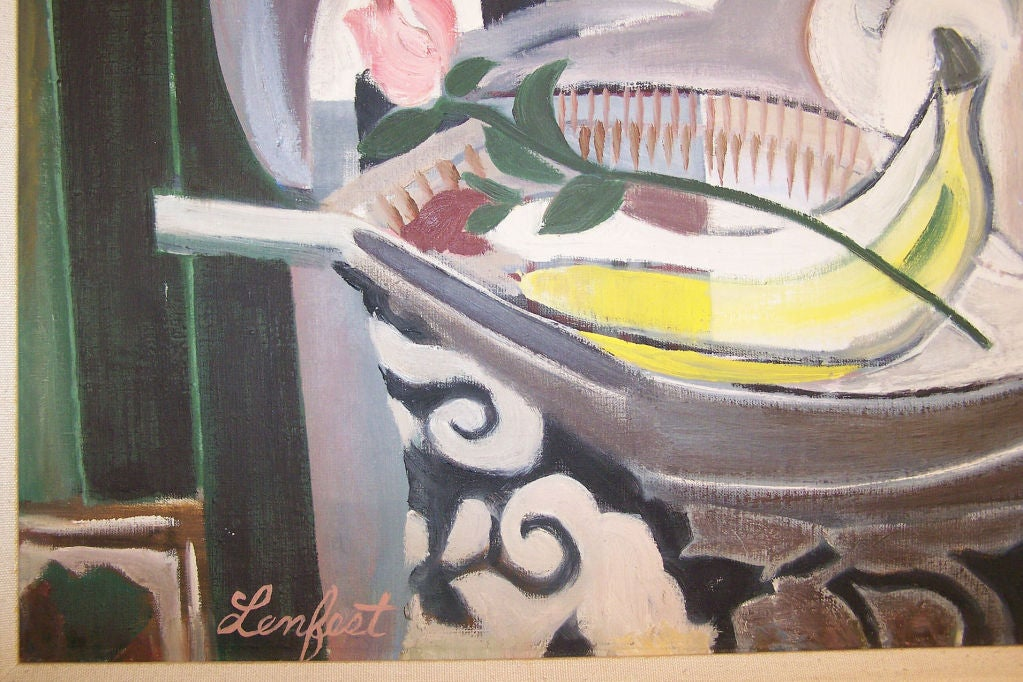 American Expressionist Still Life For Sale