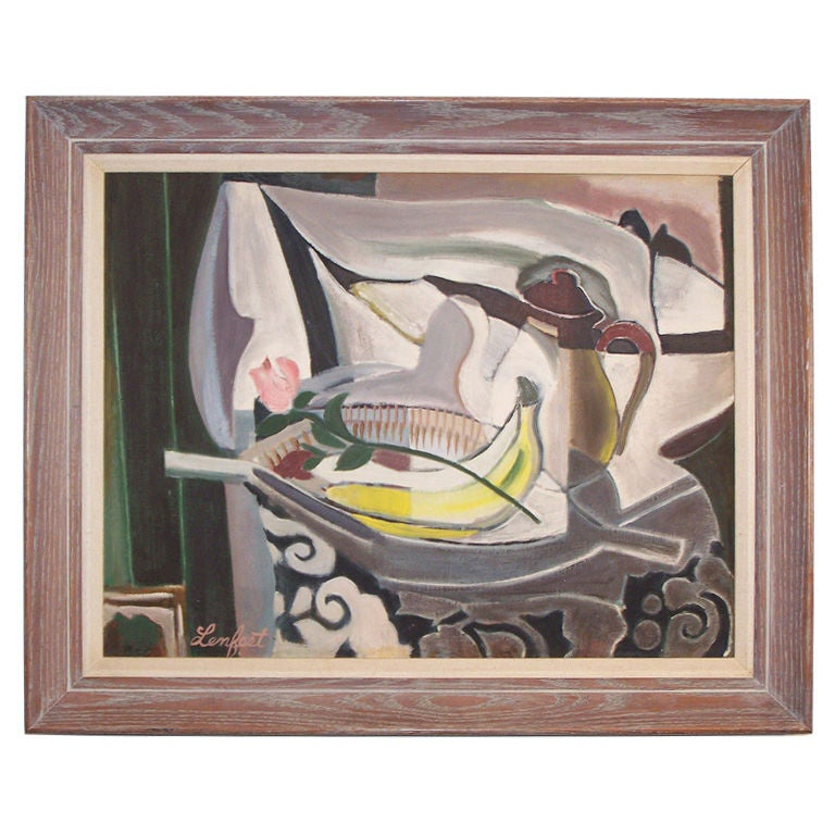 Expressionist Still Life For Sale