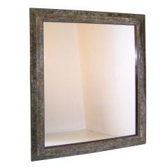 Large Italian Marbleized Mirror