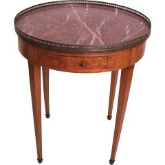 French Bouillotte Table