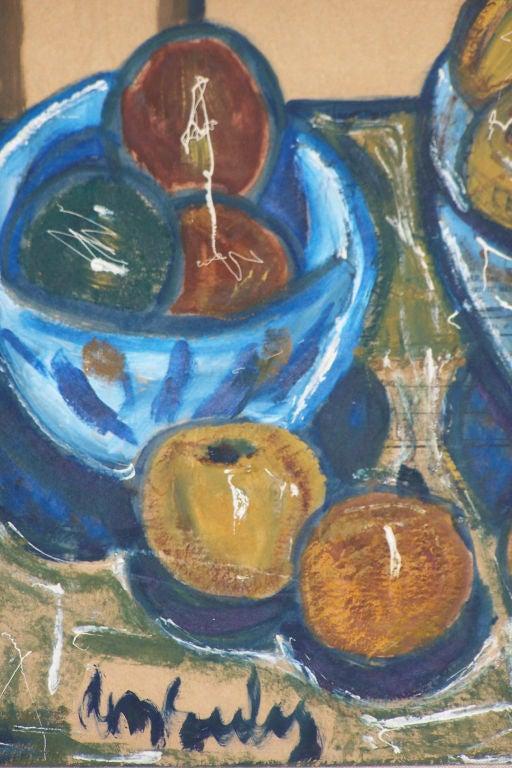 Mid-Century Modern Mid-20th Century Still Life Painting For Sale