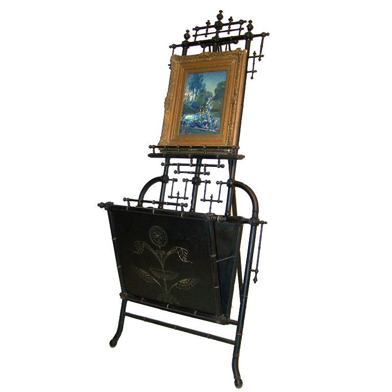 Painting Display Easel With Folio