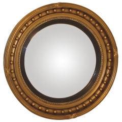 Large Federal Style Bull's Eye Mirror