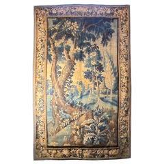 Early 18thC Flemish Verdure Tapestry