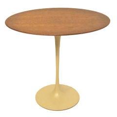 Vintage Knoll Tulip Side Table by Saarinen