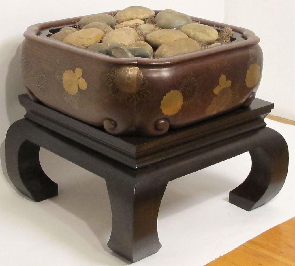 19th Century Meiji Japanese Hibachi For Sale 6