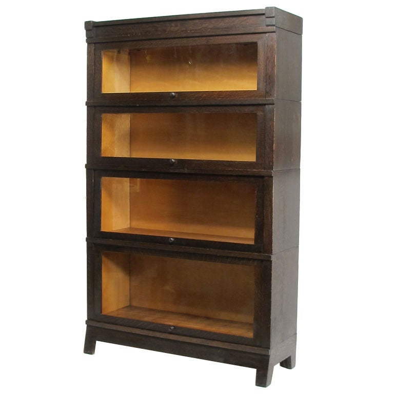 Arts And Craft Style Bookcase