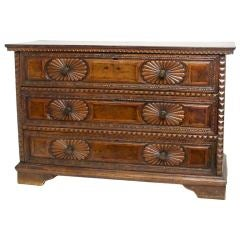18th Century Italian Commode or Chest of Drawers