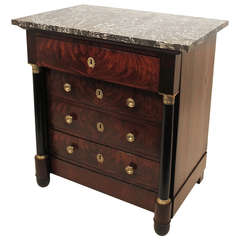 19th Century French Empire Chest of Drawers