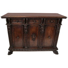 17th Century Italian Buffet or Credenza