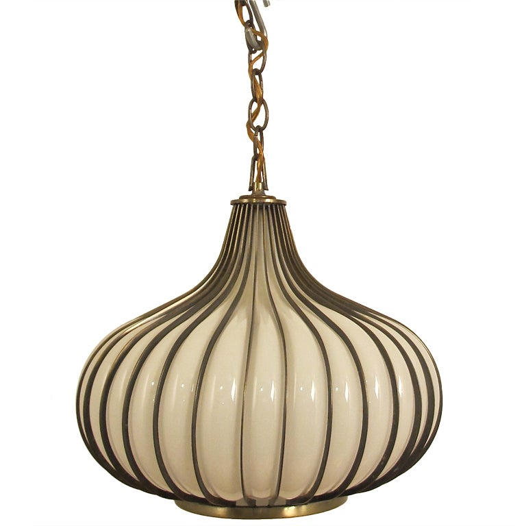 Italian pendant lights vintage quot arteluce quot for Retro italian xxx