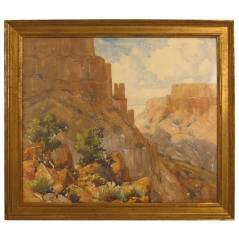 South West Canyon Landscape by William Thomas McDermitt