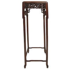 Antique Tall Chinese Stand