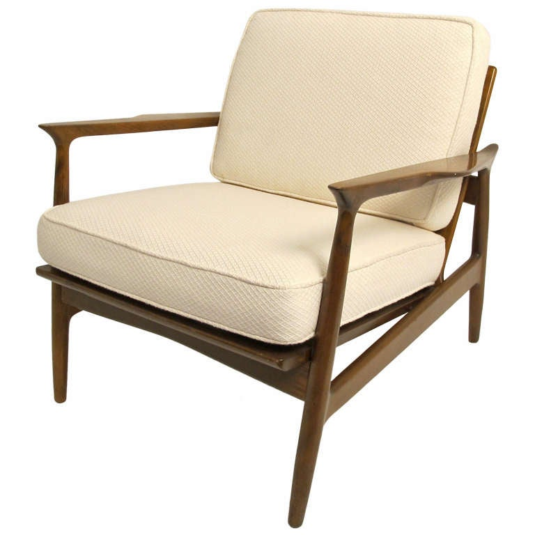 Mid century armchair at 1stdibs for Mid century modern armchairs