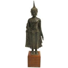 18th Century Thai Bronze Buddha