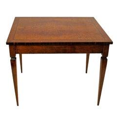 Mahogany Rosewood Walnut Inlay Center Table