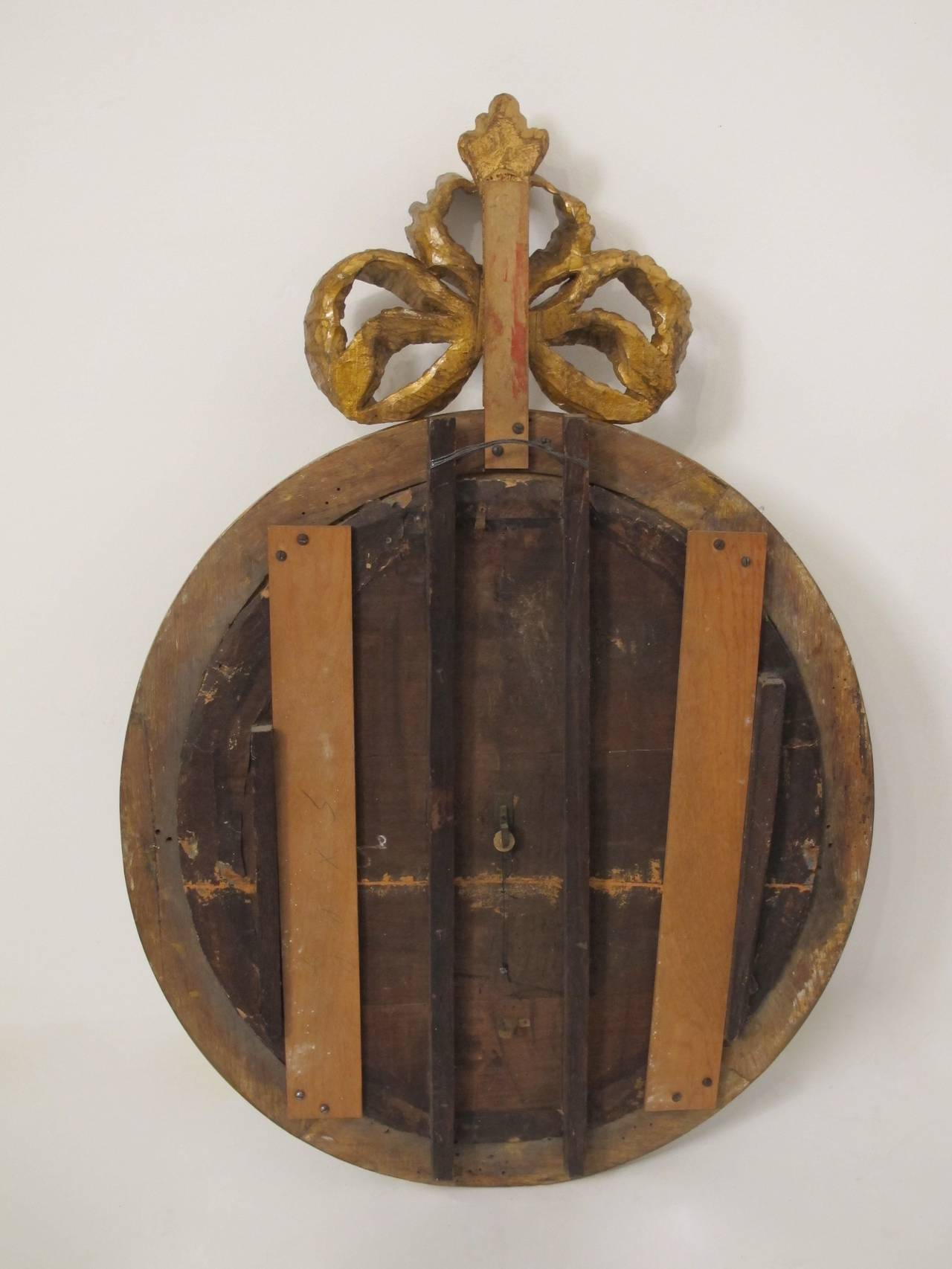 Wood 19th Century French Barometer For Sale