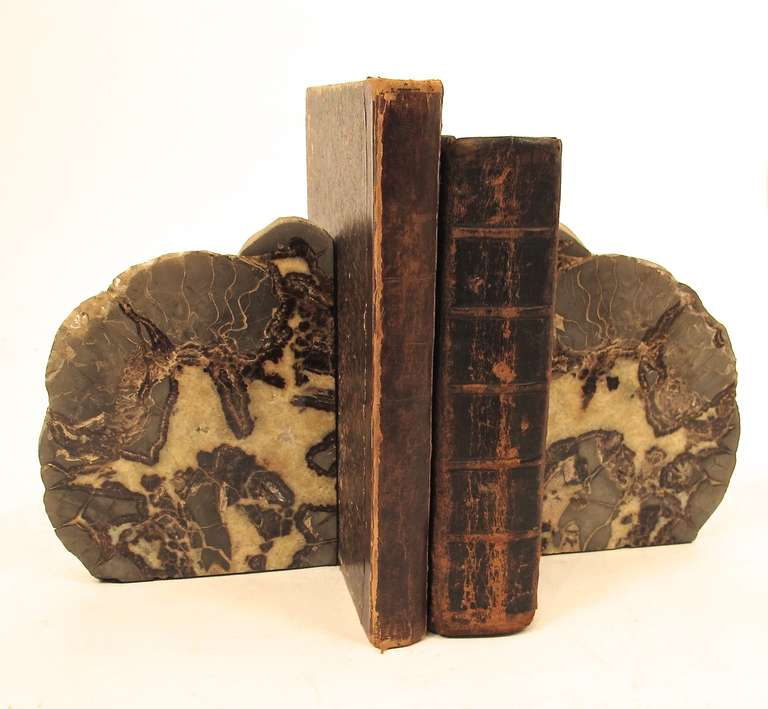 A pair of large geode specimen bookends at 1stdibs - Geode bookends ...