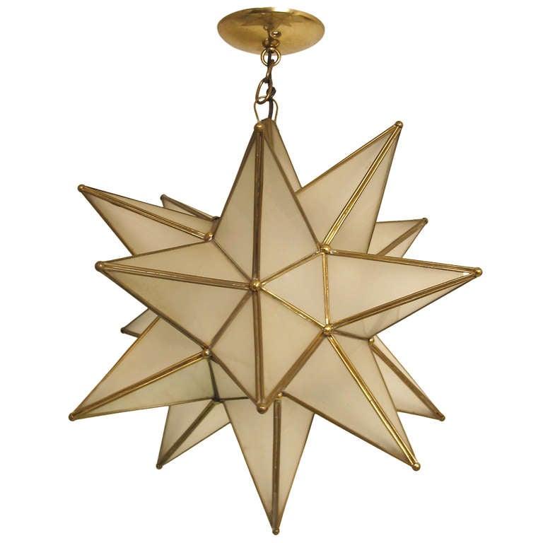Star light fixture at stdibs