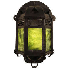 Arts & Crafts Lantern Wall Sconce