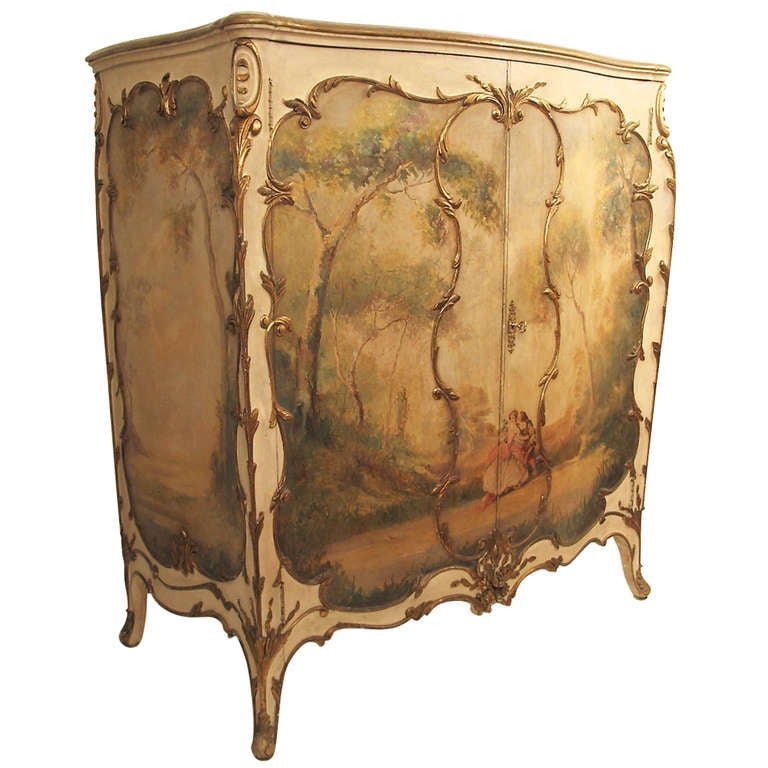 French Semainier Chest of Drawers Cabinet