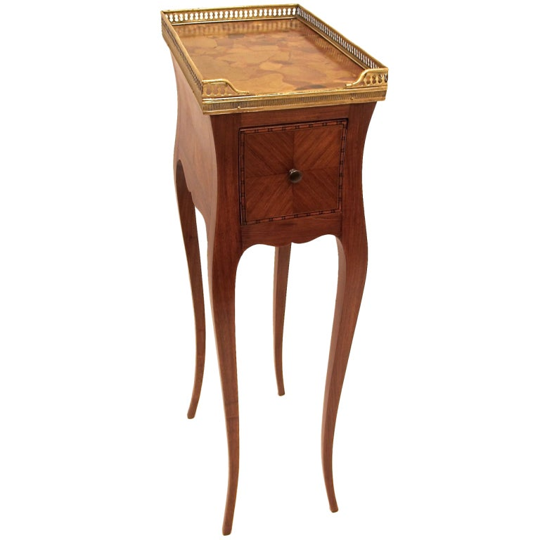 Nice Petite French Side Table 1