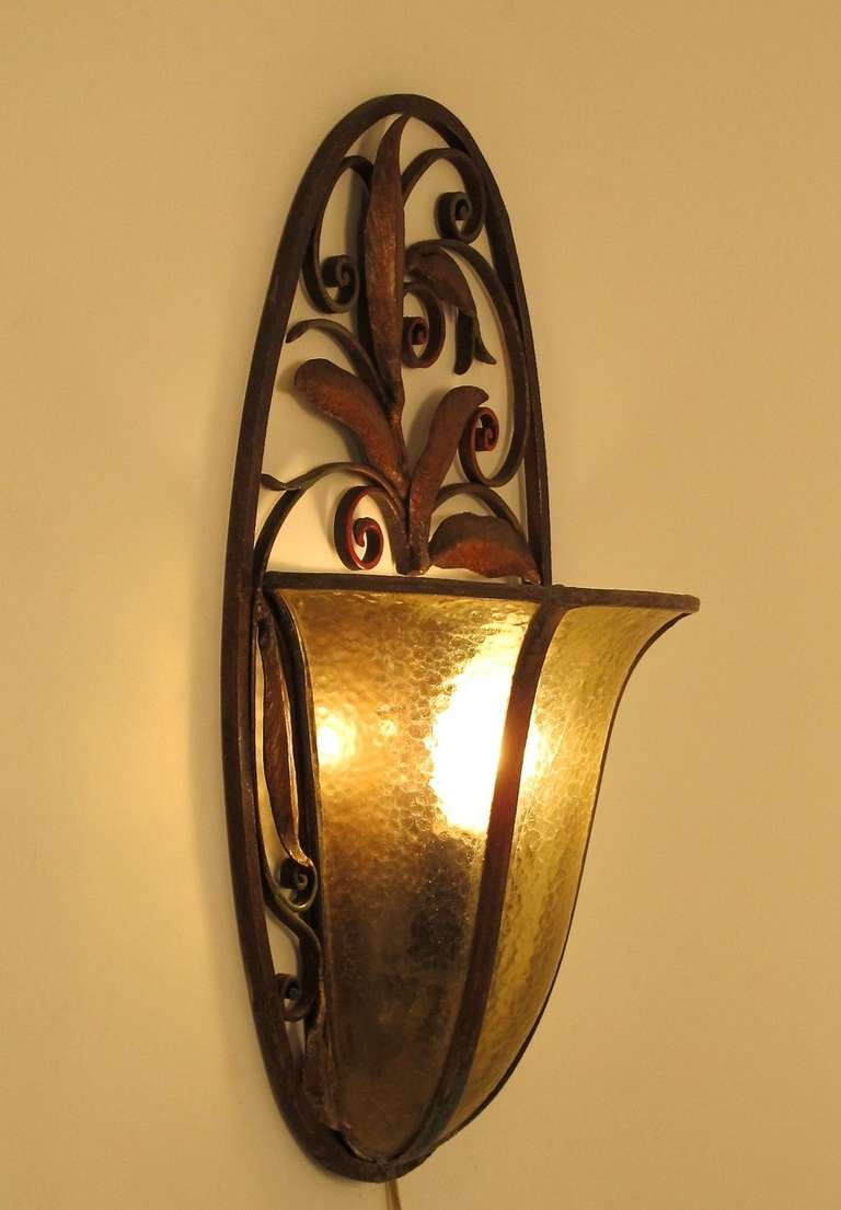 Art Deco Wall Sconce At 1stdibs