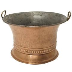 19th Century Italian Copper Pot