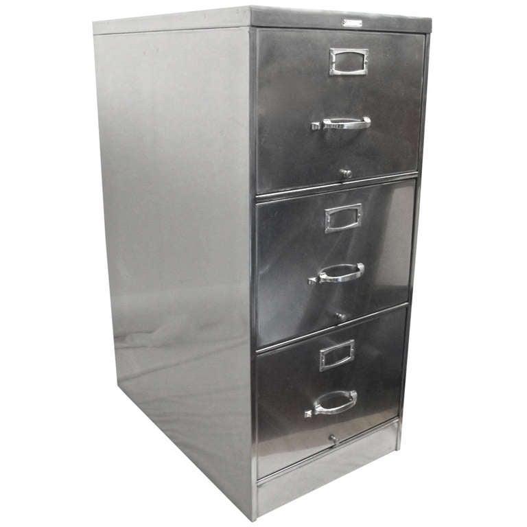 Vintage Steelcase Filing Cabinet At 1stdibs