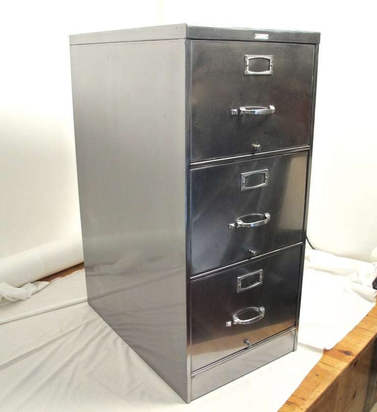 steelcase file cabinet vintage steelcase filing cabinet at 1stdibs 26783