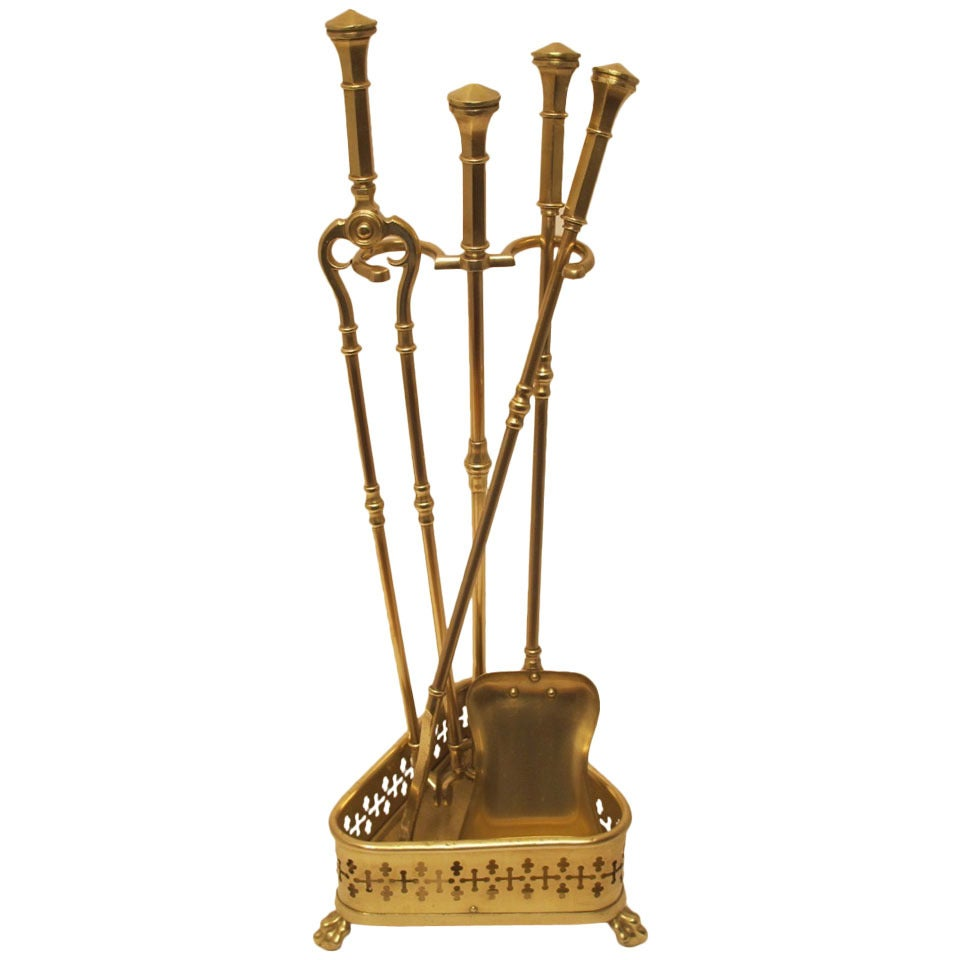 Brass Fireplace Tools At 1stdibs