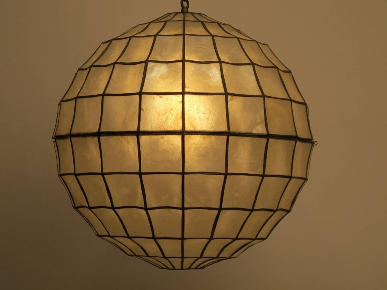 this mid century capiz shell light fixture is no longer available. Black Bedroom Furniture Sets. Home Design Ideas