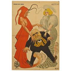 Antique Italian Movie Poster
