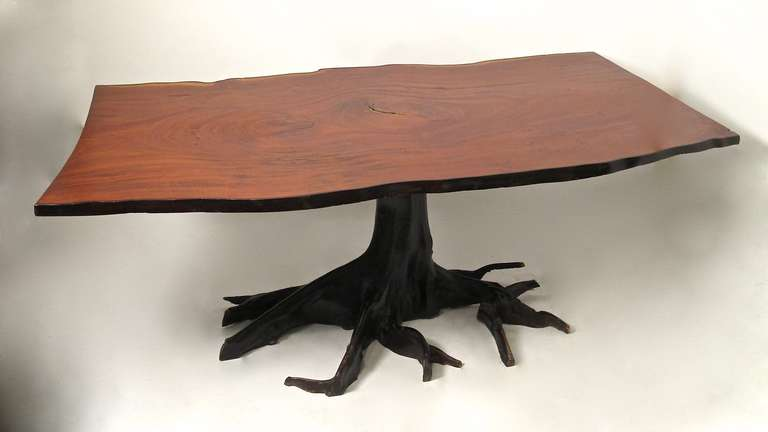 Unique Tree Form Dining Table At 1stdibs