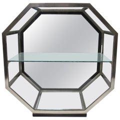 French octaginal Art Deco Store counter top Display Case