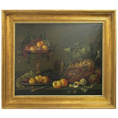 19th Cenury Style Fruit Still Life