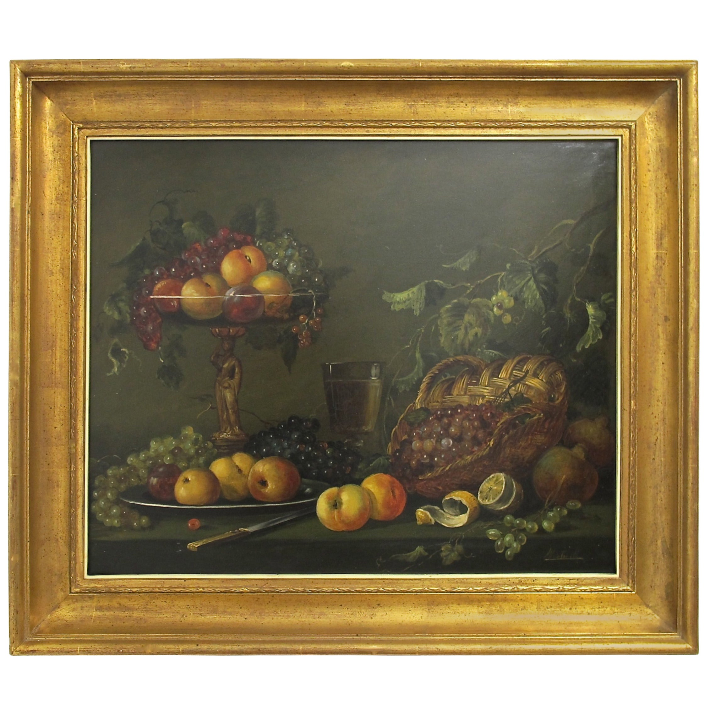 19th Cenury Style Fruit Still Life