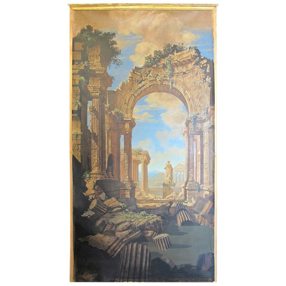 Huge Hyper Realist Painting by Albert Proom
