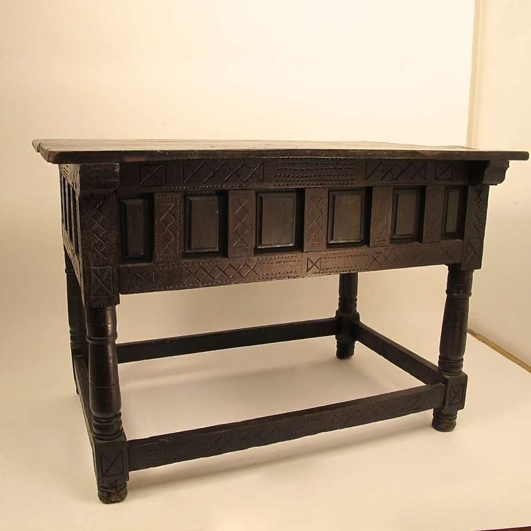 17th century spanish library or center table for sale at for Table th center