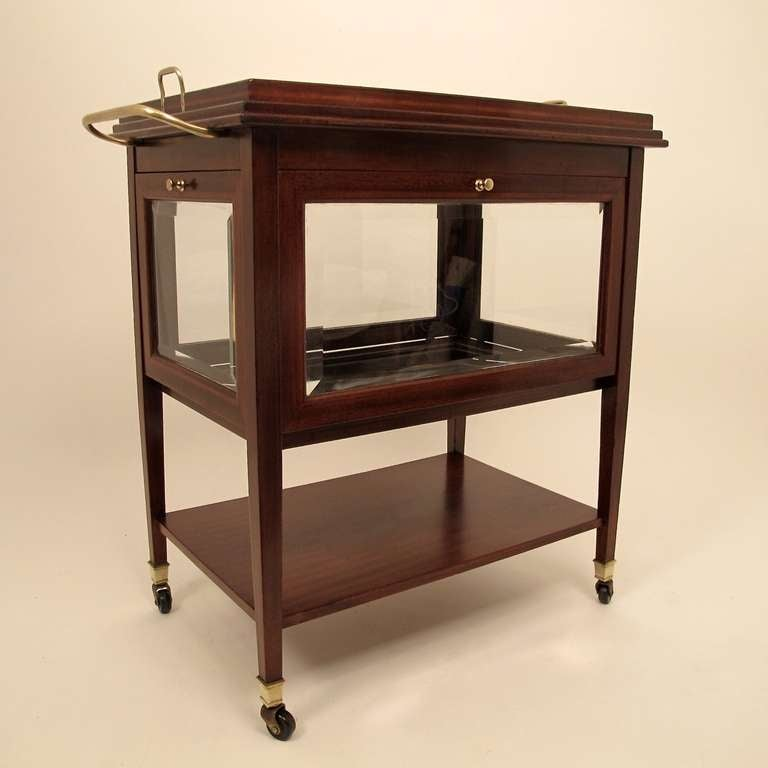 English Liquor Bar Cart Stdibs