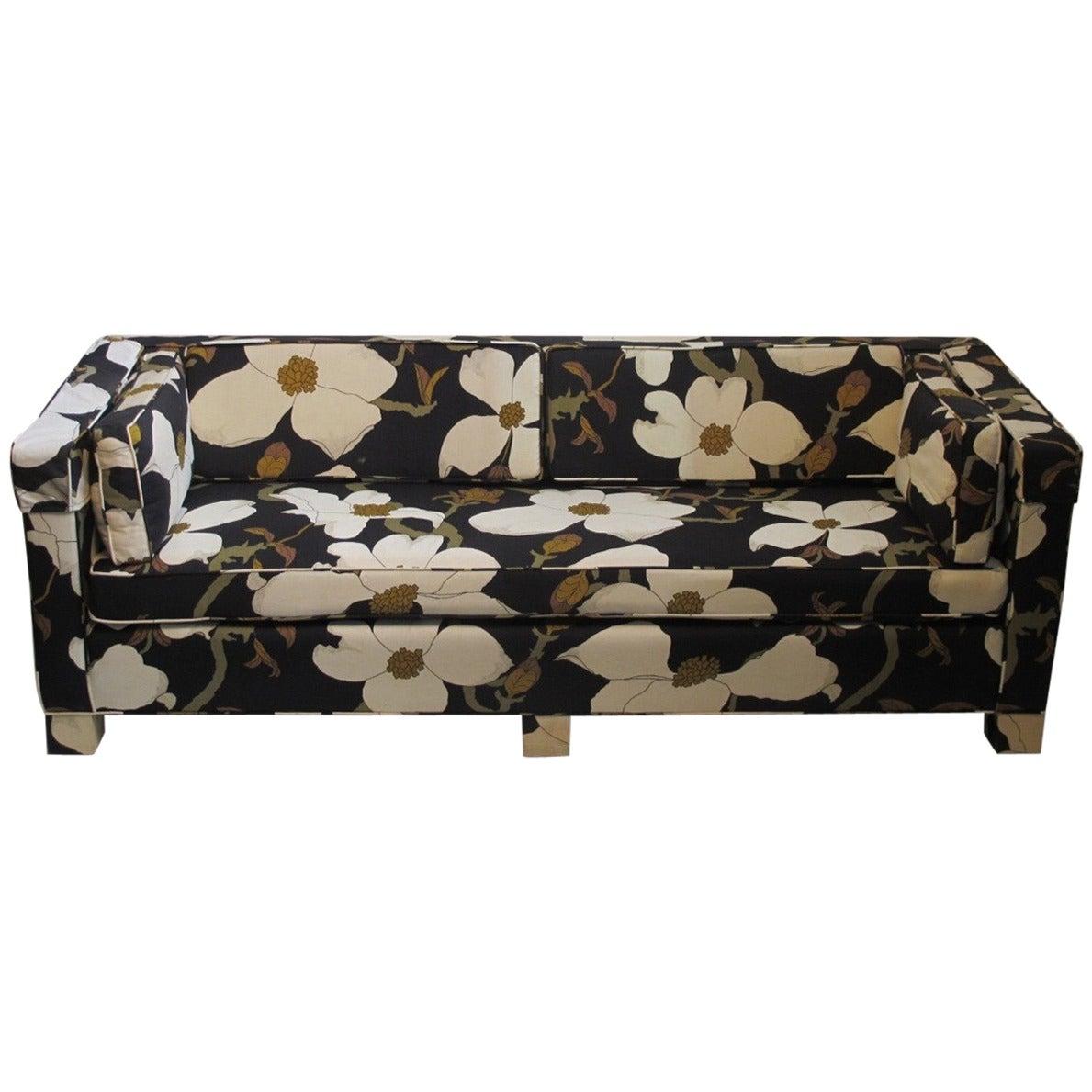 Custom Designer Sofa Mid 20th Century At 1stdibs