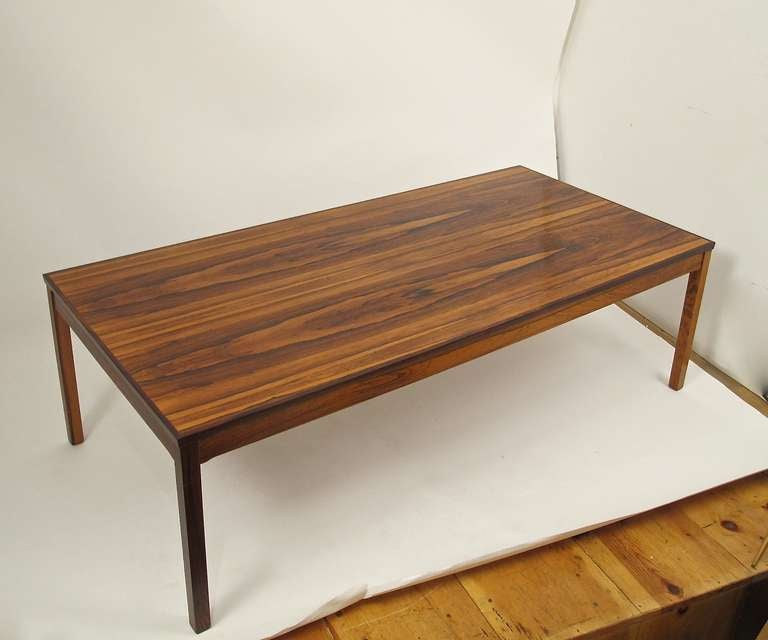 Mid Century Rose Wood Side Table Or Small Coffee Table For: Mid Century Rosewood Coffee Table At 1stdibs