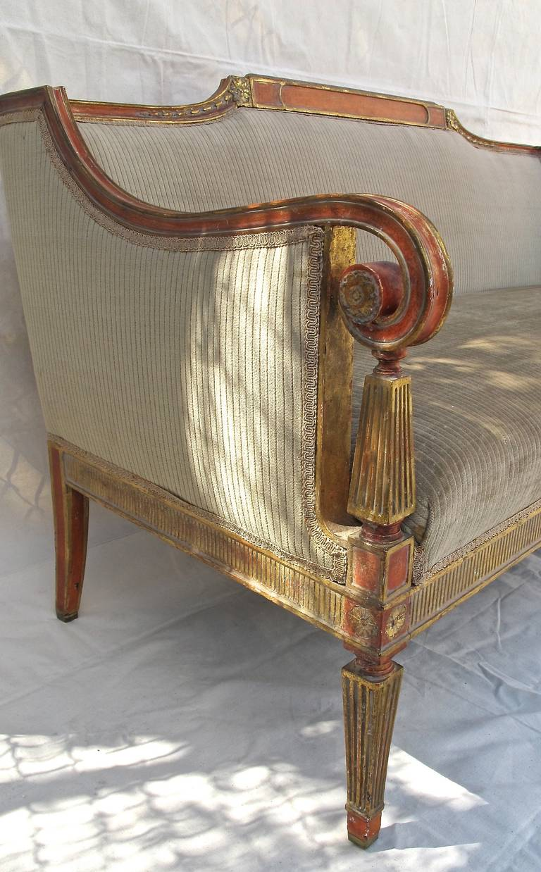 Neoclassical Style Sofa At 1stdibs